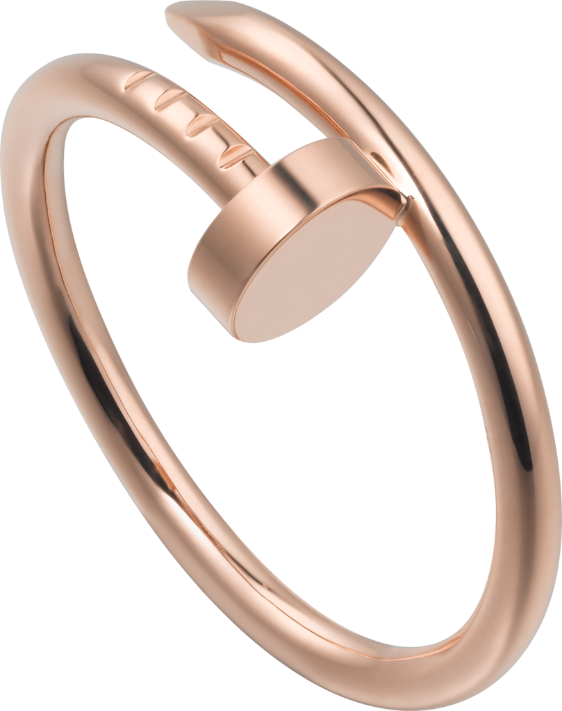 cartier rose gold ring